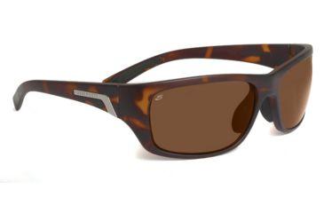 Serengeti Orvieto Sunglasses - Satin Crystal Tortoise Frame, Polar PhD Drivers Lenses 7620