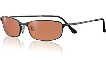 Serengeti Prato Sunglasses Drivers Lens/ Black Metal Frame - 6789