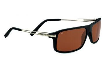 Serengeti Rivoli Progressive Prescription Sunglasses, Satin Black Frame-7765PR