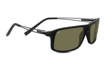 9218154c904f Serengeti Rivoli Sunglasses, Touring Shiny/Matte Black Frame, Polarized  555nm 7916