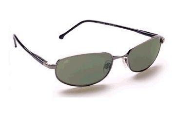 Serengeti Prescription Argosy Polarized Sunglasses - 8 Base Metal - Gunmetal Frame / 555nm Polarized lens