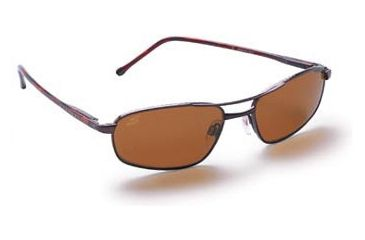 Serengeti Rx Prescription Lucca Sunglasses, 6 Base Metal Frame, Drivers Polarized Lenses