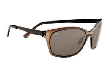 Serengeti Sara Sunglasses - Satin Dark Brown Frame and Polar PhD CPG Lens 7830