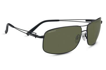 65ebfbb5fc1c Serengeti Sassari Single Vision Rx Sunglasses - Satin Black Frame 7664