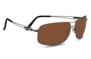 92e624caf135 Serengeti Sassari Progressive Rx Sunglasses - Shiny Gunmetal Frame 7665