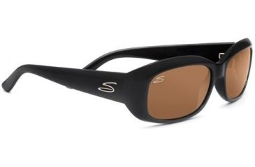 Serengeti Bianca Rx Sunglasses Shiny Black Frame