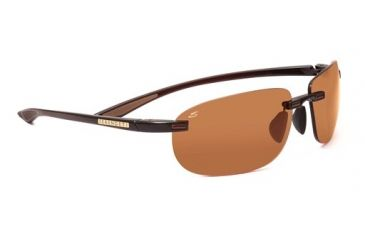 Serengeti Cielo Progressive Sunglasses, Shiny Brown Frame, 7474