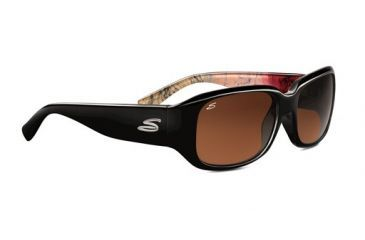 Serengeti Giuliana Rx Sunglasses, Black Abstract Frame, 7462