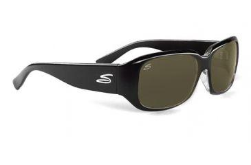 Serengeti Giuliana Progressive Sunglasses, Shiny Black Frame, 7503
