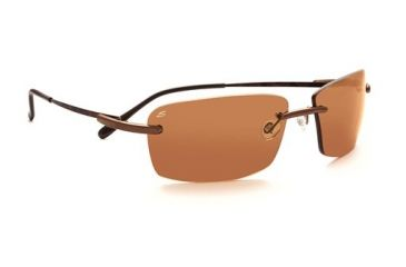 Serengeti Parma Rx Sunglasses, Brown Tortoise Frame, 7444