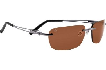 Serengeti Piers Rx Sunglasses Shiny Gunmetal Frame