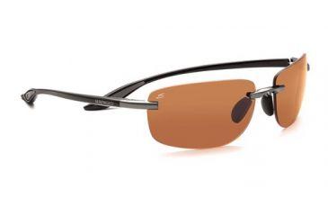 Serengeti Rotolare Rx Sunglasses, Shiny Black Frame, 7476