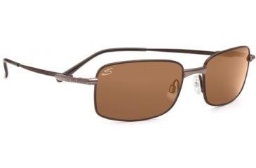 Serengeti Siena Sunglasses 7324 Espresso/ Brown Tannery Frame Drivers Polarized Lens
