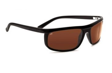 Serengeti Velino, Two Tone Black Frame, Drivers Polarized Lens, 7467