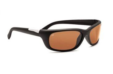 Serengeti Verucchio Progressive Sunglasses, Satin Black Frame, 7439