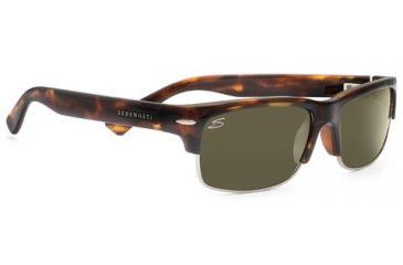 Serengeti Vasio Single Vision Rx Sunglasses - Dark Tortoise Frame 7376