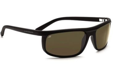 Serengeti Velino Single Vision Rx Sunglasses - Satin Black Frame 7468
