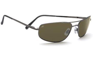 Serengeti Velocity Progressive Rx Sunglasses - Shiny Gunmetal Frame 7494