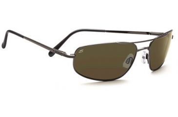 Serengeti Velocity Single Vision Rx Sunglasses - Shiny Gunmetal Frame 7494