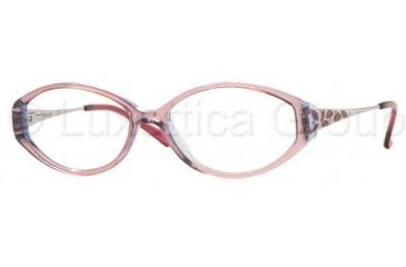 Sferoflex Eyeglass Frames SF1523 C363-5315 - Top Orange On Violet A