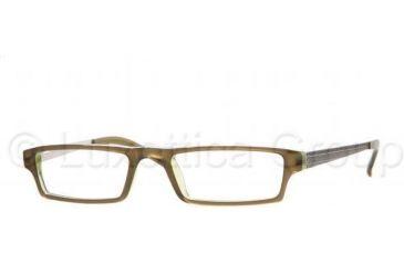 744bfdd734 Sferoflex Eyeglasses SF1527 with Rx Prescription Lenses C236-5018 - Top  Green On Green Tra