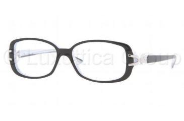 Sferoflex SF 1538B Eyeglasses Styles, Top Black On Gradient Frame w/Non-Rx 51 mm Diameter Lenses, C235-5114