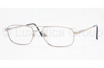 Sferoflex SF 2085 Eyeglasses Styles Silver-Gold Frame w/Non-Rx 54 mm Diameter Lenses, 131-5417, Sferoflex SF 2085 Eyeglasses Styles Silver-Gold Frame w/Non-Rx 54 mm Diameter Lenses