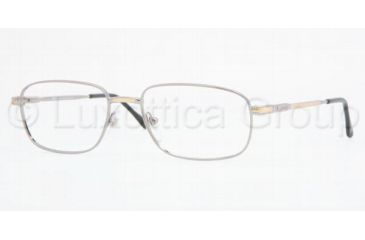 Sferoflex SF 2086 Eyeglasses Styles Silver-Gold Frame w/Non-Rx 52 mm Diameter Lenses, 131-5217, Sferoflex SF 2086 Eyeglasses Styles Silver-Gold Frame w/Non-Rx 52 mm Diameter Lenses