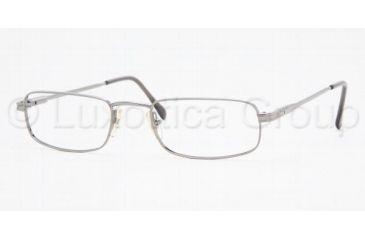 Sferoflex SF 2123 Eyeglasses Styles Gunmetal Frame w/Non-Rx 50 mm Diameter Lenses, 268-5020, Sferoflex SF 2123 Eyeglasses Styles Gunmetal Frame w/Non-Rx 50 mm Diameter Lenses
