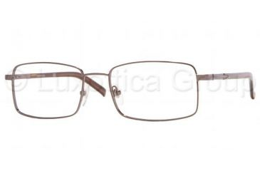Sferoflex SF 2196 Eyeglasses Styles Dark Brown Frame w/Non-Rx 53 mm Diameter Lenses, 352-5318