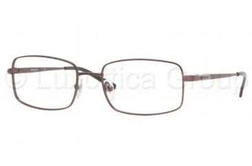 b12b24d9b6 Sferoflex SF2205 Bifocal Eyeglasses Matte - Dark Brown Frame   54 mm Prescription  Lenses