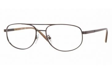 Sferoflex SF 2233 Eyeglasses w/ Black Cocoa Frame and Non-Rx 56 mm Diameter Lenses, 441-5617