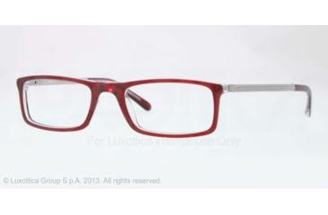 Sferoflex SF1139 Eyeglass Frames C509-51 - Bordeaux Top On Trasparent Frame