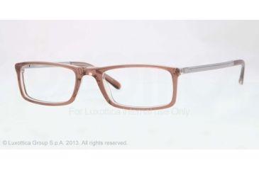 Sferoflex SF1139 Eyeglass Frames C558-51 - Brown On Trasparent Frame
