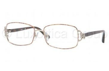 Sferoflex SF2569B Eyeglass Frames S698-5216 - Light Hold Red Spots Frame, Demo Lens Lenses