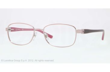 Sferoflex SF2570 Progressive Prescription Eyeglasses 490-54 - Shiny Pink Frame, Demo Lens Lenses