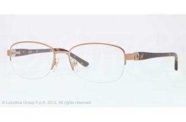Sferoflex SF2571 Progressive Prescription Eyeglasses 488-52 - Shiny Copper Frame, Demo Lens Lenses