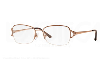 Sferoflex SF2575 Single Vision Prescription Eyeglasses 488-51 - Shiny Copper Frame