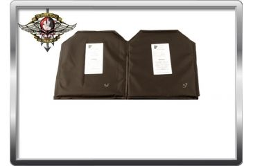 Shellback Tactical Banshee Soft Armor Package - 2 Torso Front/Back, Black 825599
