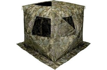 Shooters Ridge Sasquatch Hunting Blind (shown with RealTree MAX1 green camouflage pattern)