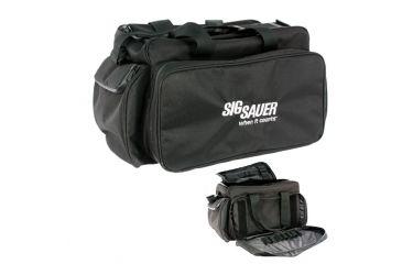 Sig Sauer Competition Range Bag 600 Denier Black Polyester With Royal Logo T02B