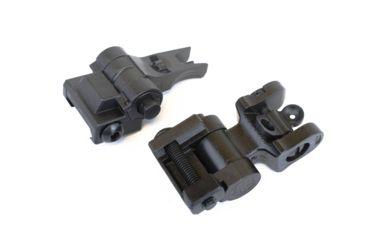 7-Sig Sauer Iron Sight Set, Flip Up, M1913 Rail