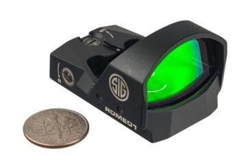 Sig Sauer Romeo1 1x30mm Reflex Red Dot Sight, 3 MOA Dot