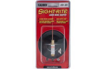Sighting System Instruments Sight-Rite Cartridge Laser Bore Sighter - .222, .223 XSI-BL-222