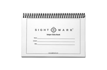 16-SightMark Sniper Data Book w/Cover