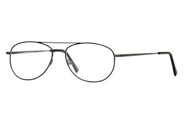 Signature Collections Aviator SESC AVIA00 Eyeglass Frames - Black SESC AVIA005645 BK