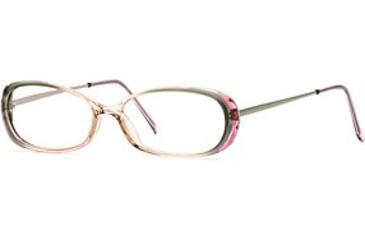 Calligraphy Collections Dainty SESC DAIN00 Progressive Prescription Eyeglasses - Hazel Mist SESC DAIN005135 GN