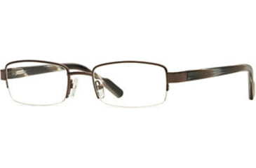 Signature Collections Kipling SESC KIPL00 Single Vision Prescription Eyewear - Brown SESC KIPL005340 BN