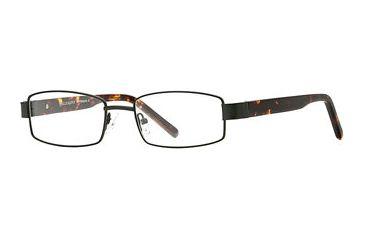 Calligraphy Collections Patterson SESC PATT00 Progressive Prescription Eyeglasses - Black SESC PATT005445 BK