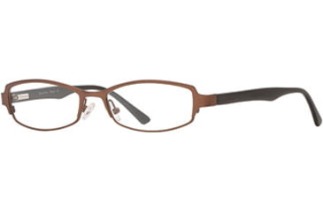Calligraphy Collections Stowe SESC STOW00 Eyeglass Frames - Dark Brown SESC STOW005335 BND